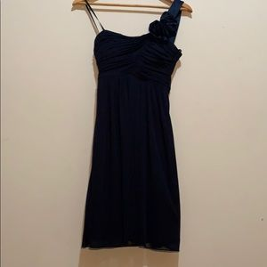Navy Blue Dress - Homecoming